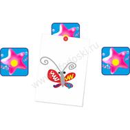 """Магнитный элемент для рисунков """"Розовая звездочка"""", фото 1"""