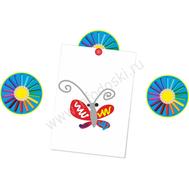 """Магнитный элемент для рисунков """"Радужные карандаши"""", фото 1"""