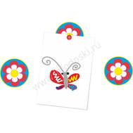 """Магнитный элемент для рисунков """"Аленький цветочек"""", фото 1"""