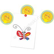 """Магнитный элемент для рисунков """"Солнышко"""", фото 1"""