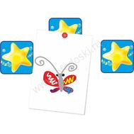 """Магнитный элемент для рисунков """"Желтая звездочка"""", фото 1"""