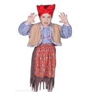 Сюжетный костюм для детского сада БАБА ЯГА, Д91051, фото 1