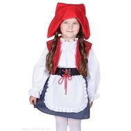 Сюжетный костюм для детского сада КРАСНАЯ ШАПОЧКА, Д91062, фото 1