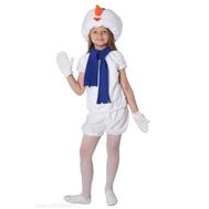 Сюжетный костюм для детского сада СНЕГОВИК, Д91063, фото 1