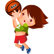 Пластиковая фигура СПОРТ (баскетбол), 478х592мм, фото 1
