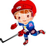 Пластиковая фигура СПОРТ (хоккей), 583х583мм, фото 1
