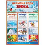 Плакат А2 ЗИМА 64.880, фото 1