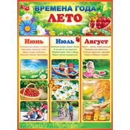 Плакат А2 ВРЕМЕНА ГОДА. ЛЕТО 64.878, фото 1