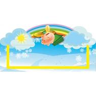 Табличка для детского сада голубая МАГАЗИН 300*150, фото 1