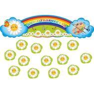 Стенд для выставки детских рисунков НАШЕ ТВОРЧЕСТВО для группы РОМАШКА, 0,8*0,2м, фото 1