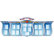 Стенд-визитка для школы НАША ШКОЛА (герб РФ), фото 1