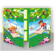Лэпбук для детского сада ПОЗНАЕМ МИР, А3, фото 1