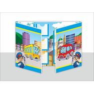 Лэпбук для детского сада ПРАВИЛА ДОРОЖНОГО ДВИЖЕНИЯ, А3, фото 1