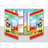 Лэпбук для детского сада ПОЖАРНАЯ БЕЗОПАСНОСТЬ, А3, фото 1
