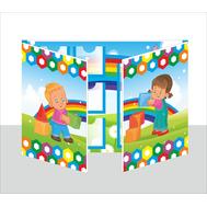 Лэпбук для детского сада МАЛЫШИ, А3, фото 1
