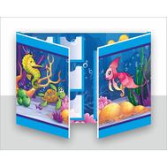 Лэпбук для детского сада МОРСКОЙ, А3, фото 1