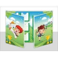 Лэпбук для детского сада СПОРТ, А3, фото 1