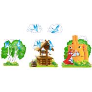 Комплект настенных декораций ГУСИ-ЛЕБЕДИ, 2,95*1,35м, фото 1