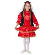 Башкирский народный костюм (девочка), фото 1