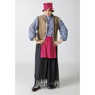Баба Яга (юбка, рубашка, жилет, платок на голову), фото 1