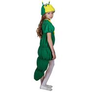 Гусеница (шапочка + платье с хвостом), фото 1
