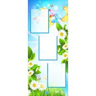 Стенд для детского сада РОМАШКИ, 0,5*1,2м, фото 1