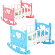 Кроватка-качалка для куклы №2 62062 П-Е, фото 1