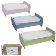 Кроватка для куклы 460*230*170 КДК-10, фото 1