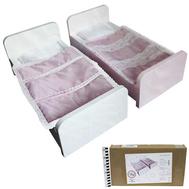 Кроватка для куклы 430*230*180 КДП-16, фото 1