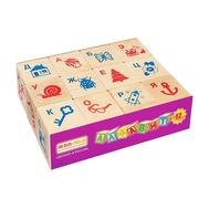 "Кубики ""Алфавит и рисунок"", 12 шт., фото 1"