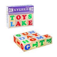 """Кубики """"Алфавит"""" английский, 12 элементов, фото 1"""