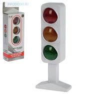 Светофор, работает от батареек, световые и звуковые эффекты, фото 1