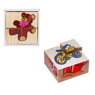 """Кубики """"Игрушки"""" 4 элемента, фото 1"""
