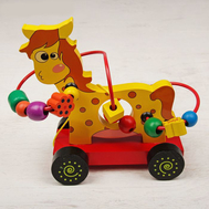 "Лабиринт - каталка ""Жёлтая лошадка"", фото 1"