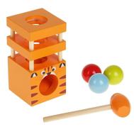 """Стучалка """"Тигра"""", молоточек , три шарика, фото 1"""