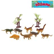 "Набор животных ""Кошки"", 8 фигурок с аксессуарами, МИКС, фото 1"