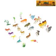 """Набор животных """"Дикие животные"""", 16 фигурок с аксессуарами, фото 1"""