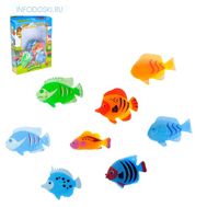 "Набор животных ""Рыбки"", 8 фигурок, фото 1"