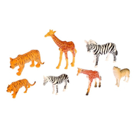 "Набор животных ""Мама и дитя-2"", 7 фигурок, фото 1"