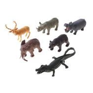"""Набор животных """"Дикие животные"""", 6 фигурок, фото 1"""