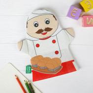 """Игрушка на руку """"Пекарь"""", фото 1"""