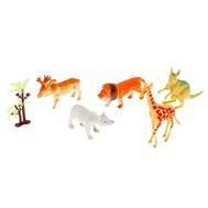 "Набор животных ""Африка"", 5 фигурок с аксессуаром, МИКС, фото 1"
