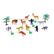"Набор животных ""Сафари"" с аксессуарами, 12 фигурок, фото 1"