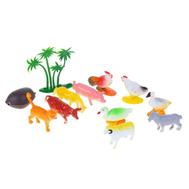 "Набор животных ""Ферма"", 10 фигурок с аксессуарами, фото 1"