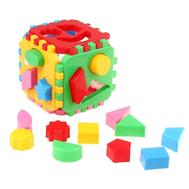 "Игрушка куб-сортер ""Умный малыш"", 24 элемента, фото 1"