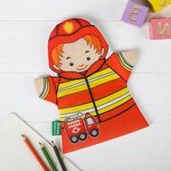 """Игрушка на руку """"Пожарный"""", фото 1"""