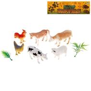 """Набор животных """"Домашние животные"""", 6 фигурок с аксессуарами, фото 1"""
