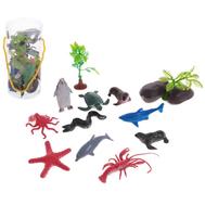 """Набор животных """"Морские обитатели"""", 10 фигурок с аксессуарами, МИКС, фото 1"""