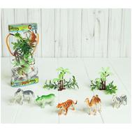 Набор животных «Парк Африки» с аксессуарами, 5 фигурок, фото 1