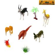 """Набор животных """"Дикая природа"""" с аксессуарами, 5 фигурок, фото 1"""